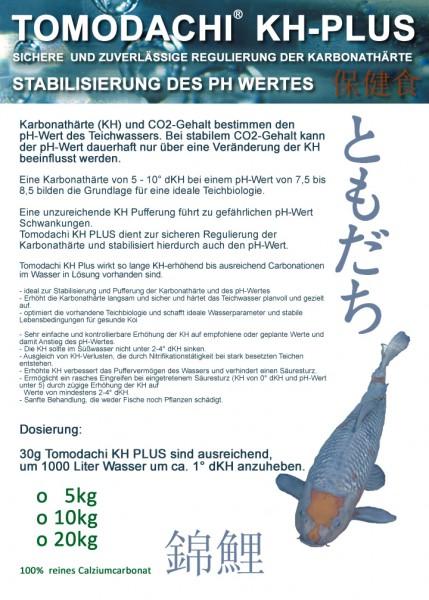Tomodachi KH-Plus für eine stabile Carbonathärte und PH Pufferung 20kg Sack
