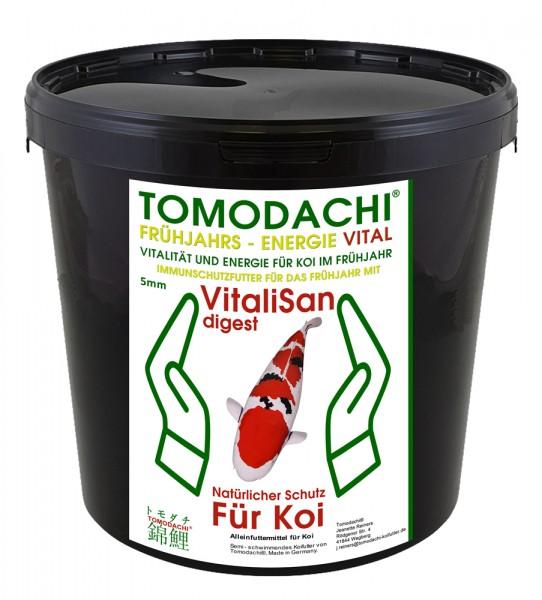 Antibakterielles Koifutter, Gesundheitsfutter Frühjahr, teilsinkend, Energiefutter Koi VitaliSan 3kg