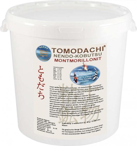 Teichmineral, Mineralspender, Montmorillonit, Tonmineral, Bentonit weiß 3kg Eimer
