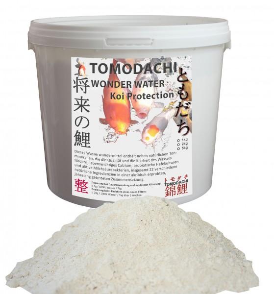 Tomodachi Wonder Water -Teichpflege - glasklares Wasser, vitale, schöne Koi 1kg