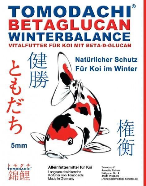 Betaglucan Koifutter für den Winter, Gesundheitsfutter Koi, Immunschutz Koi, Winterbalance 5mm 15kg