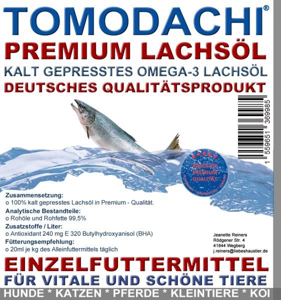 Lachsöl Koi, Mega Energie, Frühjahr und Herbst, Tomodachi 10 Liter
