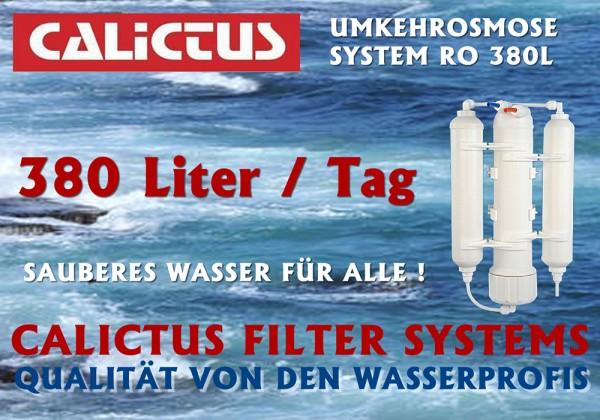 Osmosesystem, vitalisierendes, mineralarmes Osmosewasser selbst gemacht, 380L/Tag