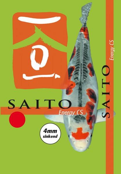 Saito Energy CS, Winterfutter, Herbstfutter und Frühjahrsfutter für Koi, 4mm 5kg Eimer