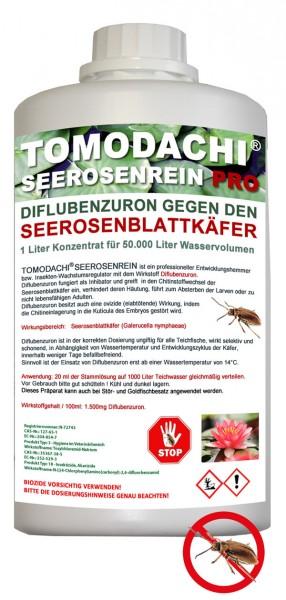 Tomodachi Seerosenrein gegen Galerucella Seerosenkäfer für 50m³ Teichvolumen
