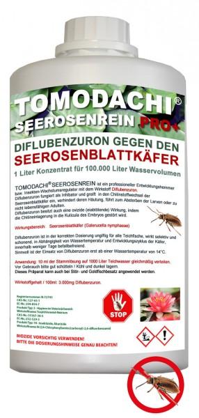 Tomodachi Seerosenrein gegen Galerucella Seerosenkäfer für 100m³ Teichvolumen