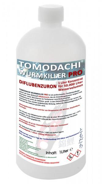 Wurmmittel Anti Karpfenlaus Tomodachi Wurmkiller Pro Diflubenzuron 1L Konzentrat für 50 m³ Teiche