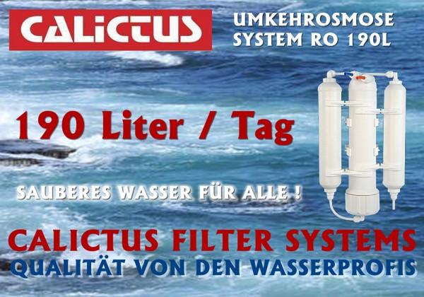 Osmosewasser selbst herstellen, mineralarm und vitalisierend, Osmoseanlage 190L / Tag