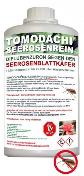 Tomodachi Seerosenrein gegen Galerucella Seerosenkäfer für 25m³ Teichvolumen