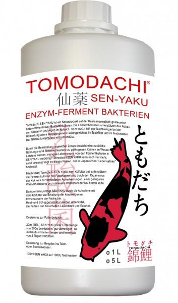 Tomodachi SEN-YAKU Milchsäurebakterien, für Koiteich und Koifutter 1L Flasche